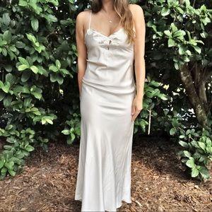 Natori Vintage White Nightgown Slip Full Length